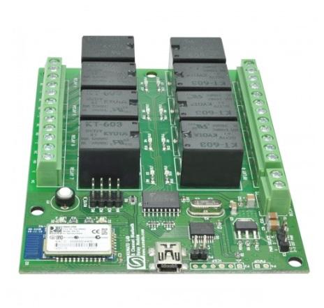 Numato 8 Channel Bluetooth Relay Module